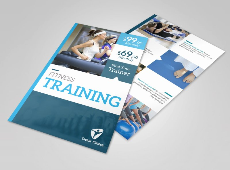 Personal Trainer Flyer Template Best Of Personal Trainer Flyer Templates