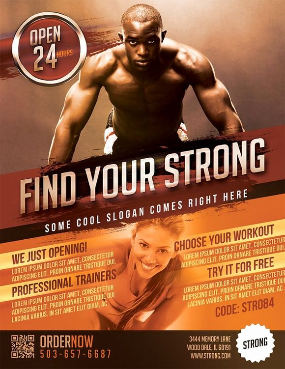 Personal Trainer Flyer Template Elegant 17 Best Images About Flyer and Poster Ideas for Personal