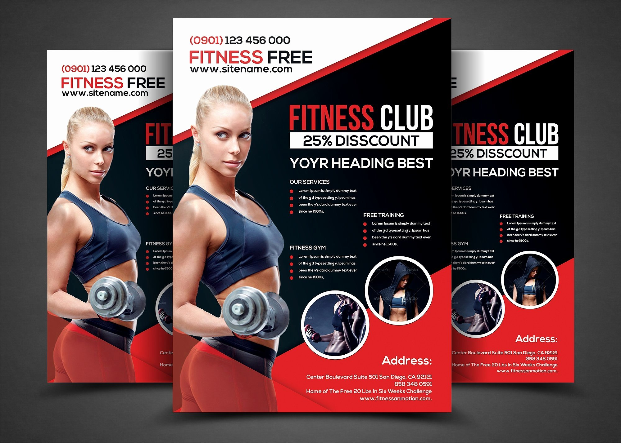Personal Trainer Flyer Template Inspirational 14 Gym Flyer Designs & Examples Psd Ai