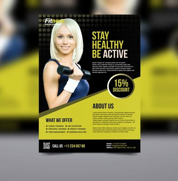Personal Trainer Flyer Template Inspirational 17 Best Images About Flyer and Poster Ideas for Personal
