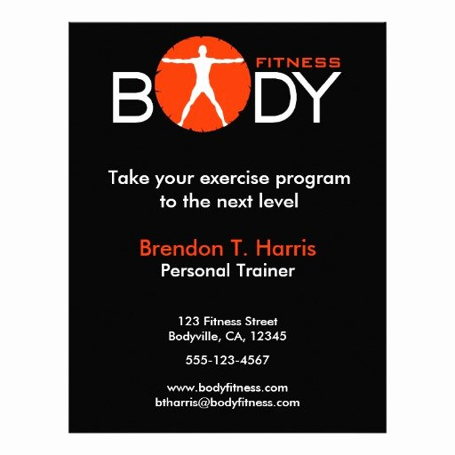 Personal Trainer Flyer Template Luxury 100 Personal Trainer Flyers Personal Trainer Flyer