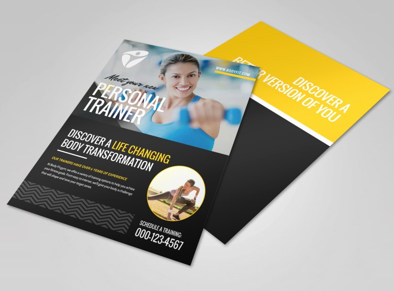 Personal Trainer Flyer Template New About the Personal Trainers Flyer Template