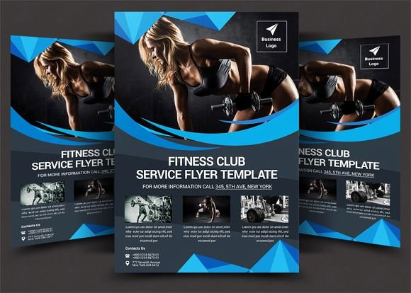 Personal Trainer Flyer Template New Flyer and Poster Ideas for Personal Trainers and