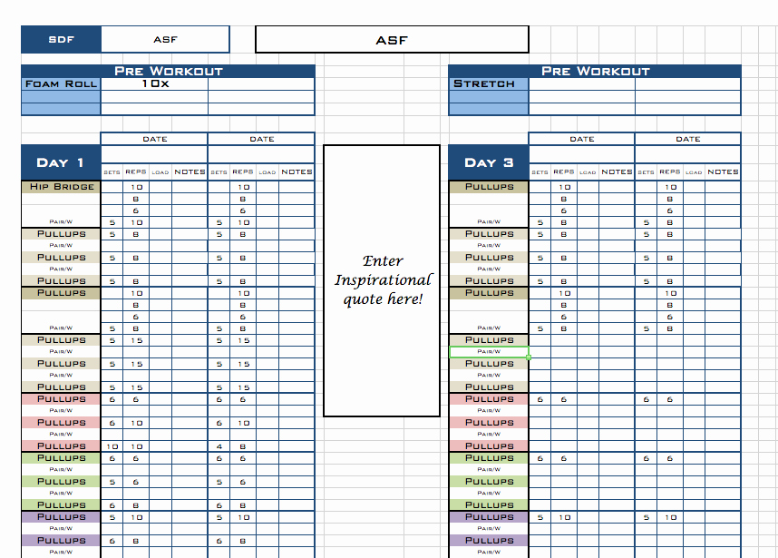 Personal Trainer Workout Plan Template Beautiful Personal Trainer Workout Template Eoua Blog