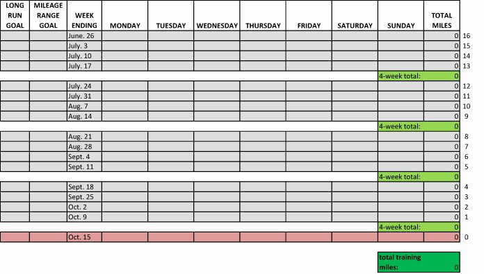Personal Trainer Workout Template Fresh Fitness Tracking