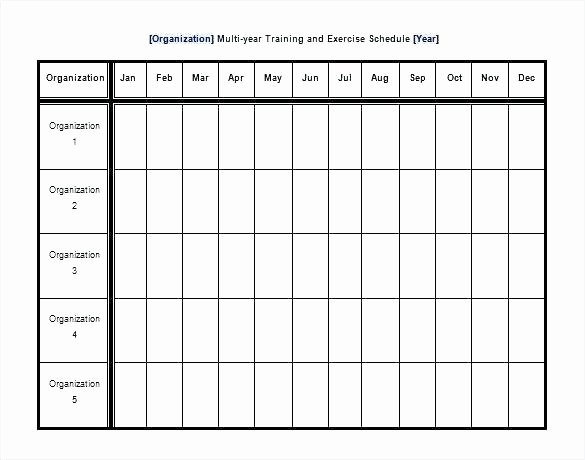 Personal Trainer Workout Template Luxury Fitness Training Schedule Template Blank Workout Schedule