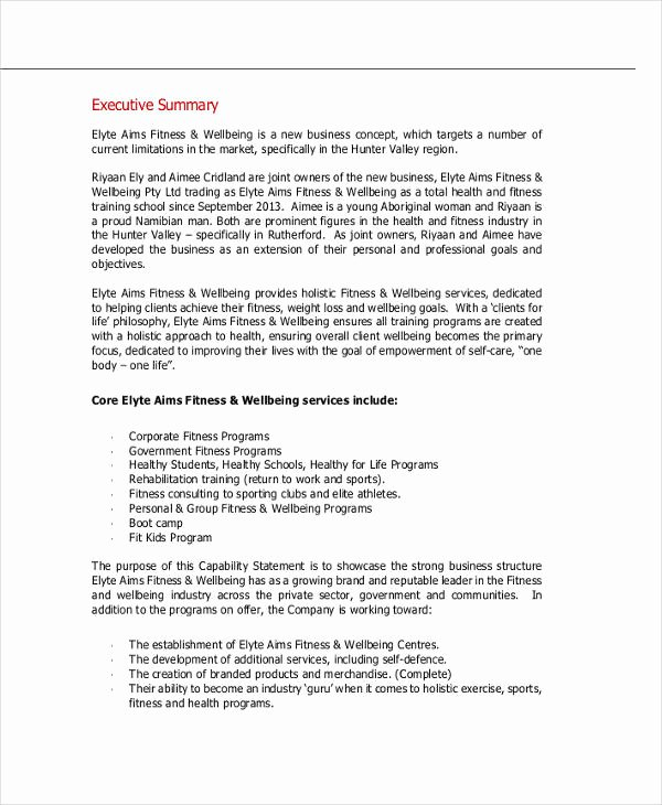 Personal Training Business Plan Template Unique Personal Training Business Plan Template Pdf Personal