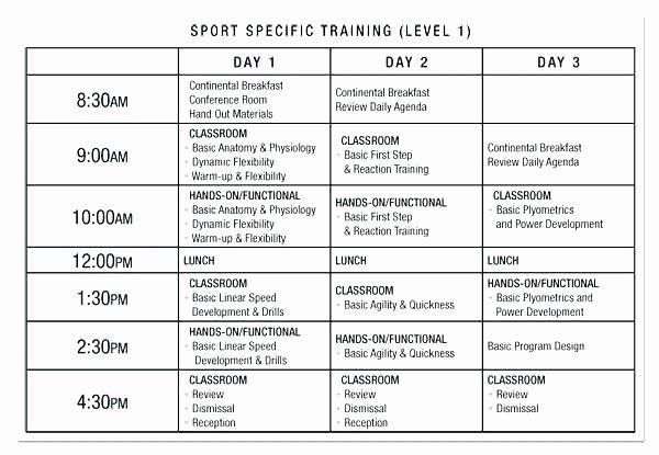 Personal Training Program Template Awesome Workout Program Template New Printable Calendar Kiddo Gym