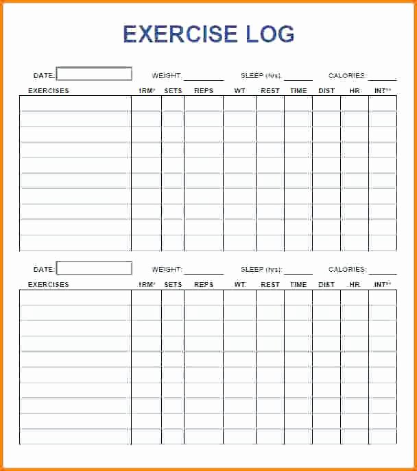 Personal Training Workout Template New Exercise Plan Template – Chaseevents