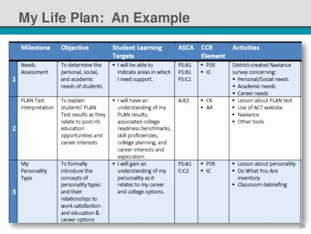 Personalised Learning Plans Template Elegant Nsi 2014 Standardized Individual Learning Plans It S