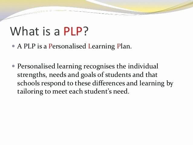 Personalised Learning Plans Template Lovely Individual Learning Plan Template – Chaseevents