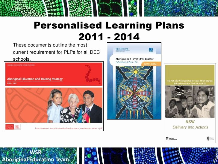 Personalised Learning Plans Template Luxury Pmf Plp Vc