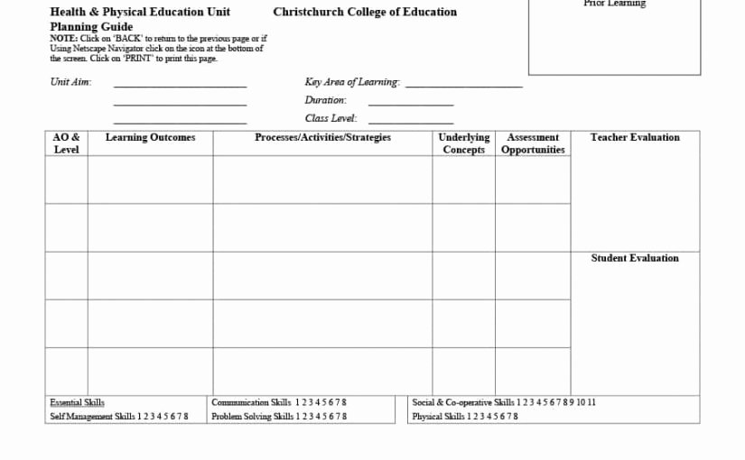 Personalised Learning Plans Template New New Personal Learning Plan Template – Free Template Design