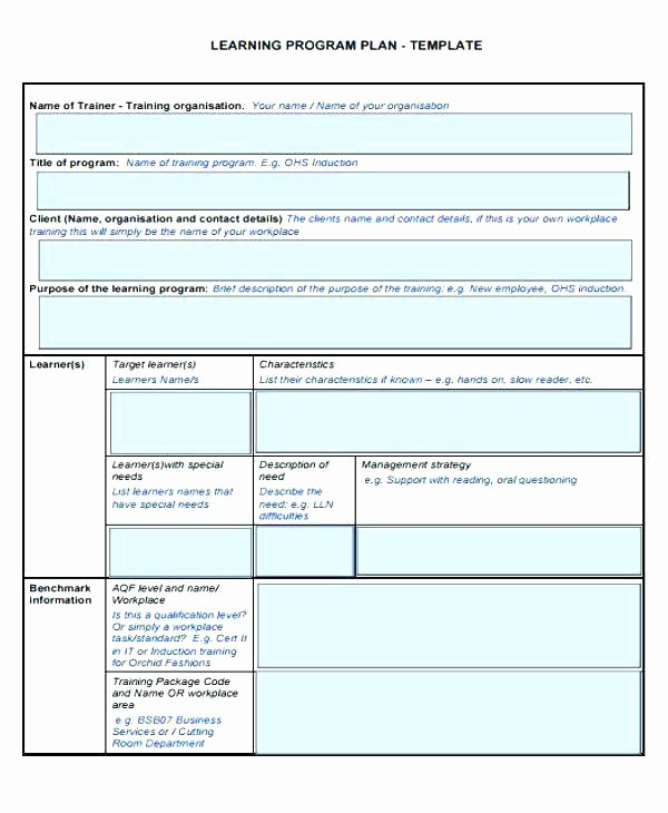 Personalized Learning Plan Template Elegant Individual Learning Plan Template – Chaseevents
