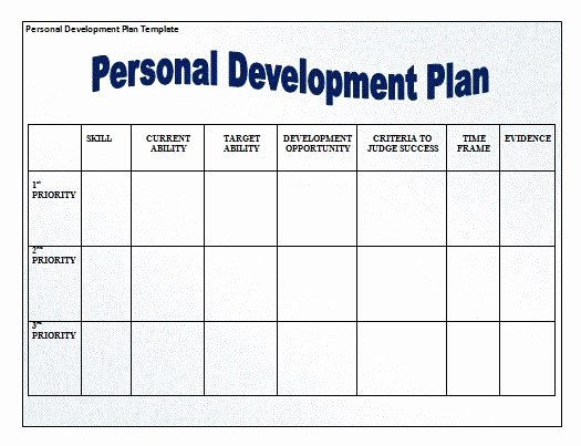 Personalized Learning Plan Template Fresh for Those that are Looking to Develop Grow as People