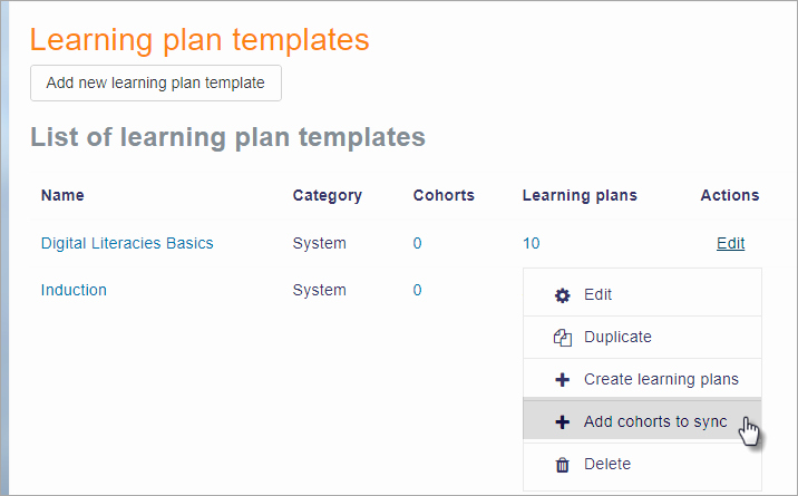 Personalized Learning Plan Template Inspirational Learning Plans Moodledocs