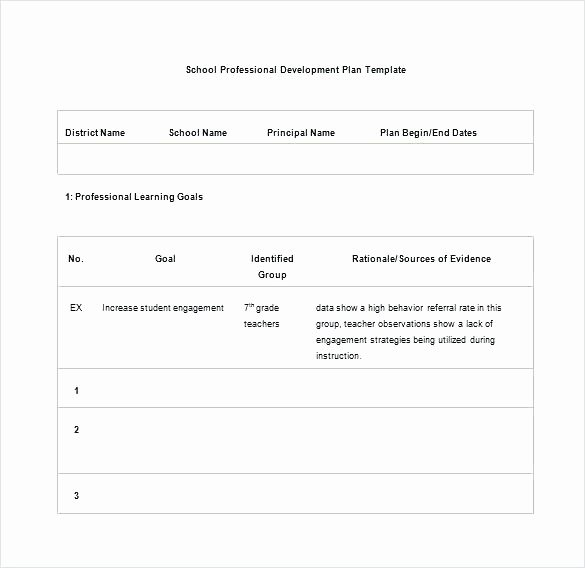 Personalized Learning Plan Template New Student Learning Plan Template Personal Plans