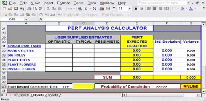 Pert Chart Template Excel Luxury Download Free Excel Pert Chart Templates for Project