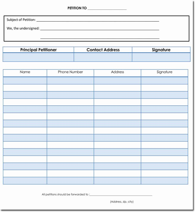 Petition Template Microsoft Word Awesome Petition Template for Word Related Keywords & Suggestions