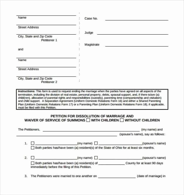 Petition Template Microsoft Word Elegant Petition Templates Find Word Templates