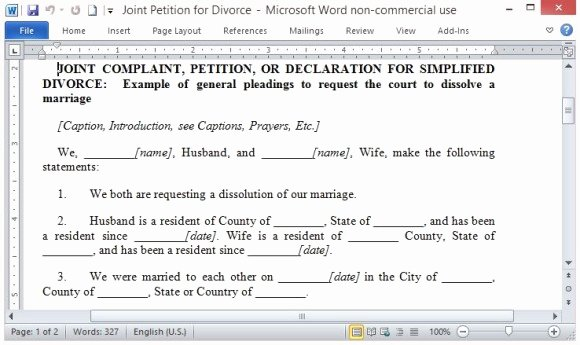 Petition Template Microsoft Word Luxury Free Petition Template for Word