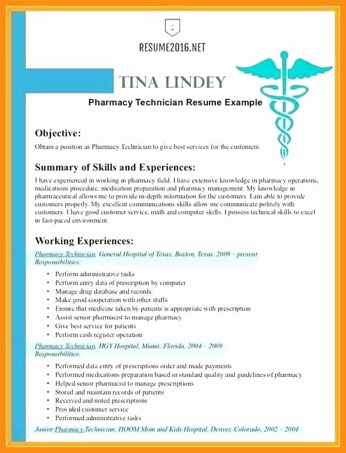 Pharmacist Curriculum Vitae Template Elegant 11 12 Pharmacy Curriculum Vitae