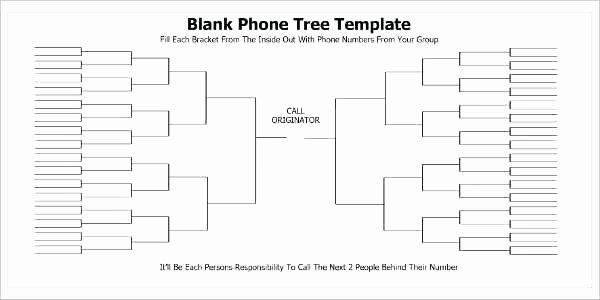 Phone Tree Template Excel Lovely Telephone Tree Template Emergency Calling – Royaleducation