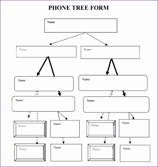 Phone Tree Template Excel Unique 8 Excel Decision Tree Template Exceltemplates