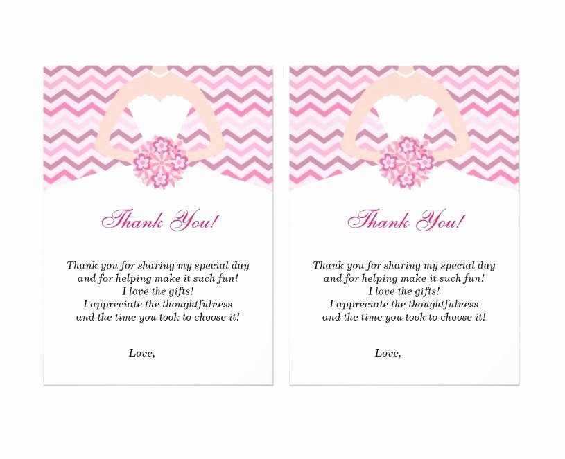 Photo Thank You Card Template Awesome 30 Free Printable Thank You Card Templates Wedding