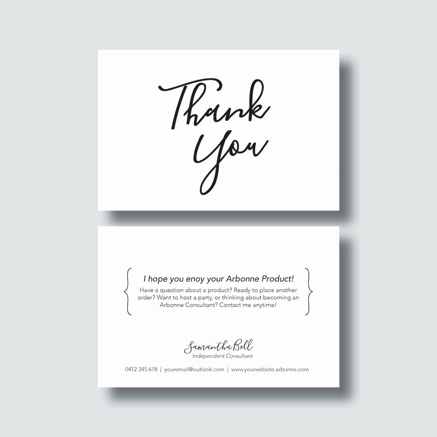 Photo Thank You Card Template Elegant Thank You Card Template Cards New Christmas