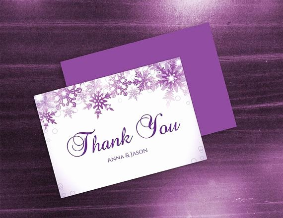 Photo Thank You Card Template New Diy Printable Wedding Thank You Card Template