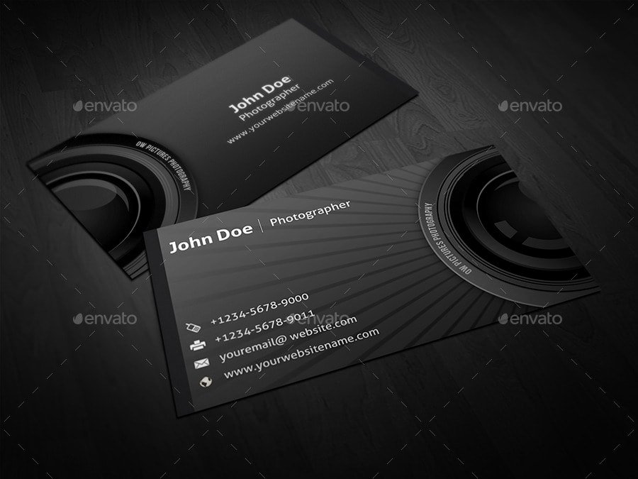 Photographer Business Card Template Awesome 25 Best Business Card Templates Shop Designs 2017