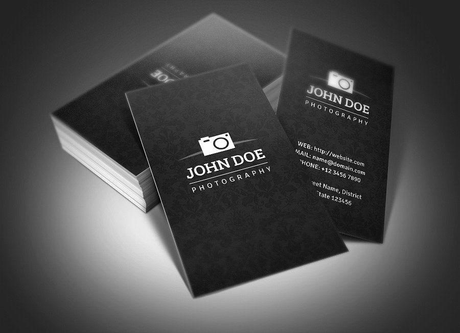 Photographer Business Card Template Awesome Graphy Business Card Business Card Templates