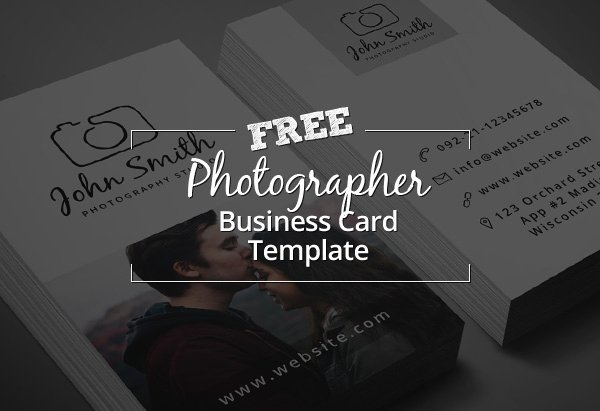 Photographer Business Card Template Beautiful Freebie – Minimal Grapher Business Card Psd Template