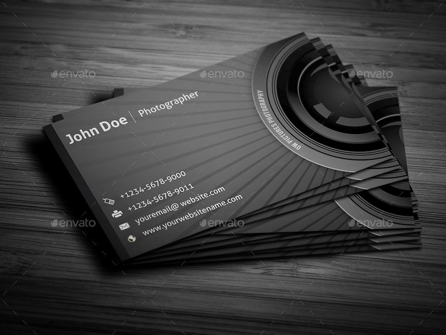 Photographer Business Card Template Beautiful Grapher Business Card by Ow