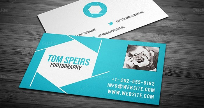 Photographer Business Card Template Best Of 52 Graphy Business Cards Free Download