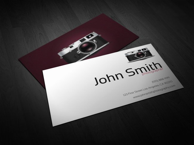 Photographer Business Card Template Best Of Deal Of the Week 40 Ready to Print Business Card