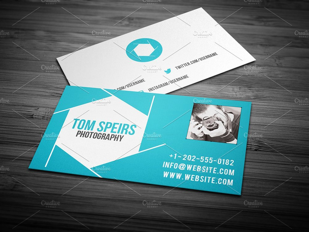 Photographer Business Card Template Fresh Graphy Business Card 09 Business Card Templates