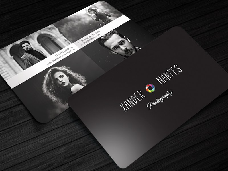 Photographer Business Card Template Fresh Quadpix Grapher Business Card Template by Cursive Q