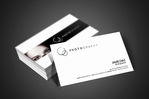 Photographer Business Card Template Inspirational Grapher Business Card Business Card Templates On