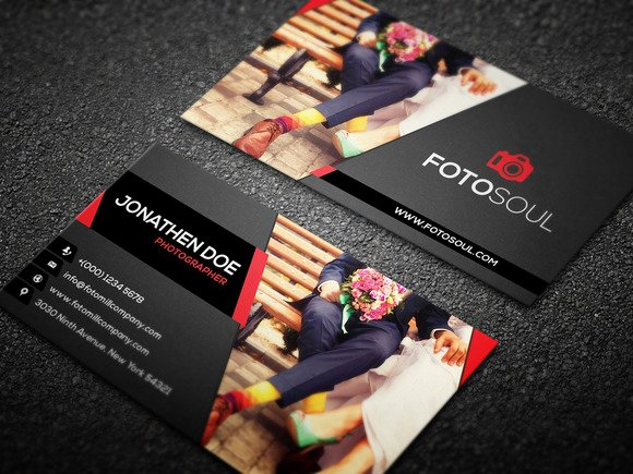 Photographer Business Card Template Inspirational Graphy Business Card 12 Business Card Templates On