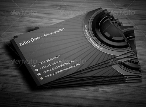 Photographer Business Card Template Luxury 17 Best Graphy Business Card Templates