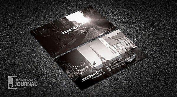 Photographer Business Card Template Luxury 30 Amazing Free Business Card Psd Templates