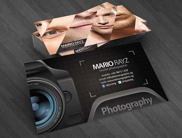Photography Business Card Template Awesome 39 Best Graphy Business Cards In Psd Templates