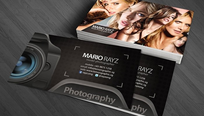 Photography Business Card Template Beautiful 52 Graphy Business Cards Free Download