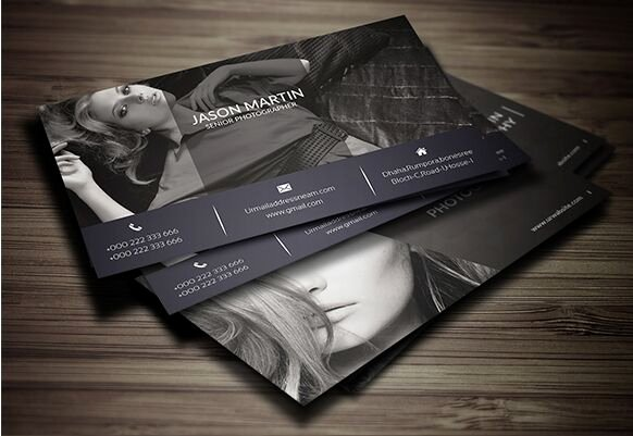 Photography Business Card Template Beautiful Free Print Ready Graphy Business Card Template Psd
