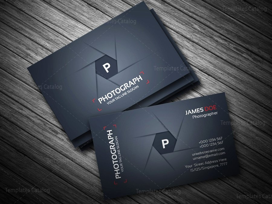 Photography Business Card Template Beautiful Grapher Business Card Template Template Catalog