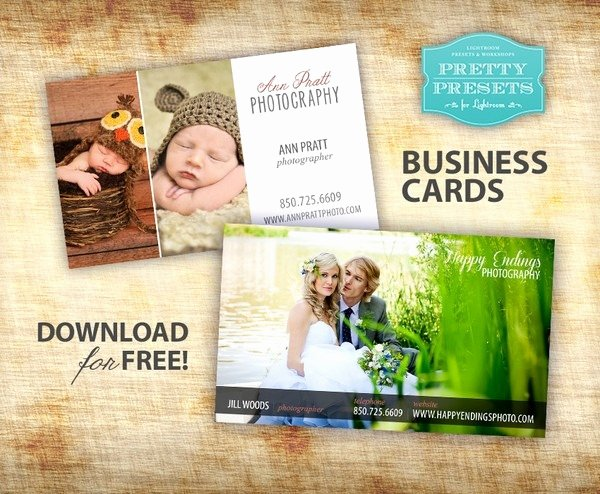 Photography Business Card Template Inspirational 75 Beautiful Free Business Card Psd Templates