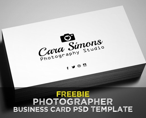 Photography Business Card Template Lovely Freebie – Grapher Business Card Psd Template