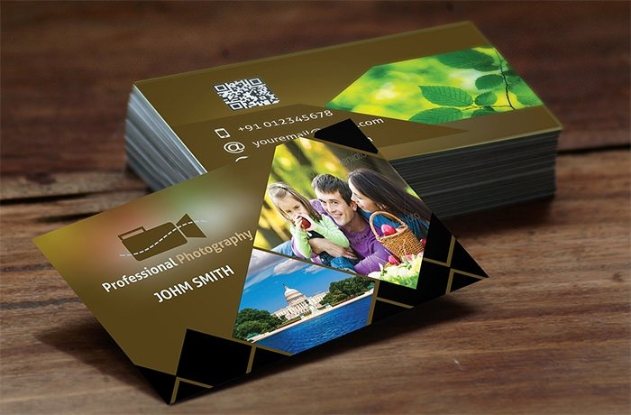Photography Business Card Template New 52 Graphy Business Cards Free Download